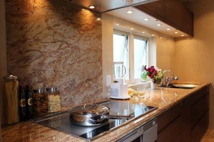 キッチン天板 御影石