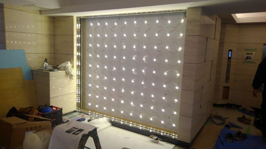 光壁LED