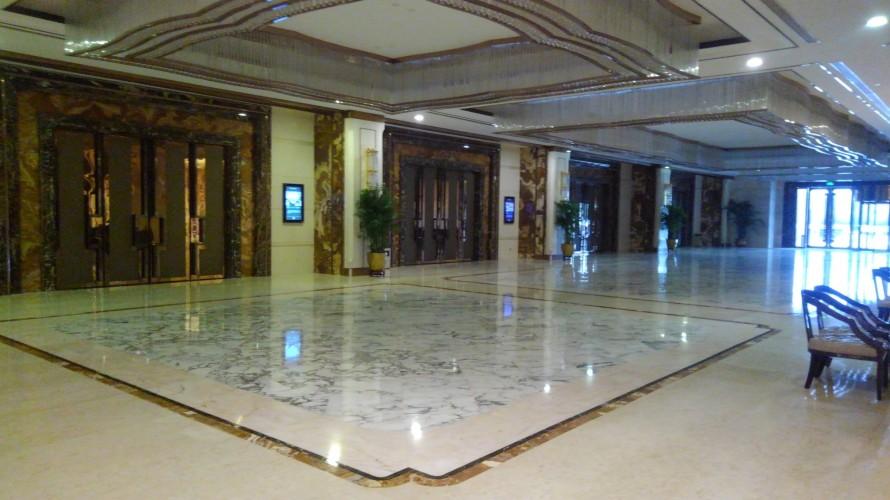ホテル 大理石床