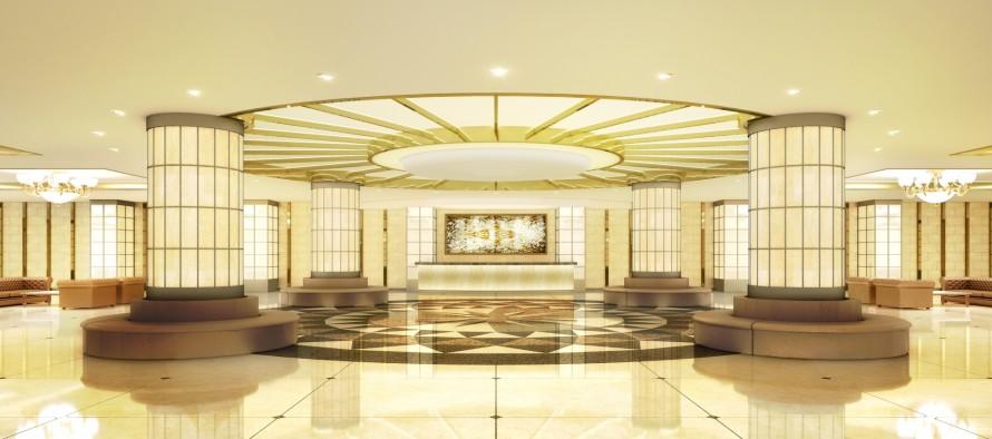 ホテル・カジノ 大理石インテリア