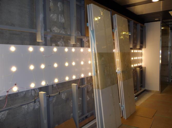 光壁の施工方法2取付方法3