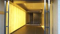 マンションエントランス光壁