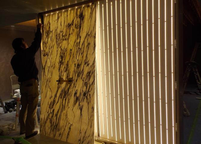 光壁の施工方法4取付方法1
