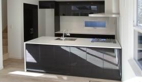 大理石キッチン