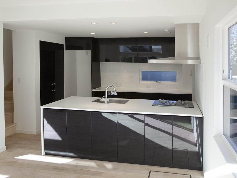 大理石キッチン天板