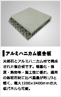 アルミハニカム複合板