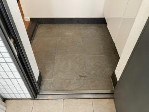 大理石の床工事