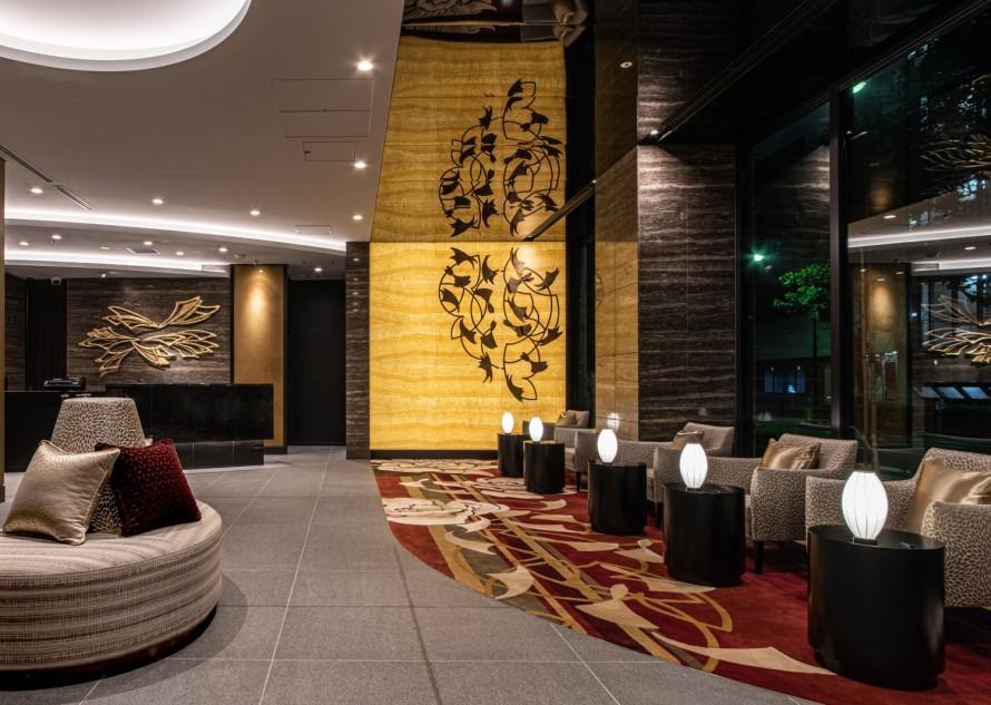 ホテル 大理石光壁