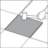 大理石床施工ハンマー